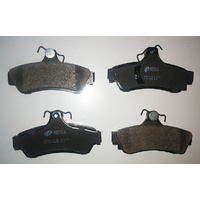 Ford Courier PC PD 2 Door Utility 1991-1992 2.6L G6 Ultra Ceramic Rear Brake Pads