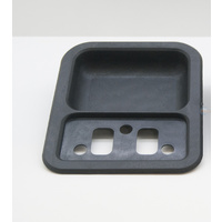 FORD XW XY BLACK DOOR HANDLE CUP
