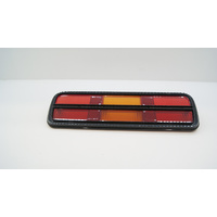 FORD XB-XC COUPE REAR TAIL LIGHT LENS BLACK
