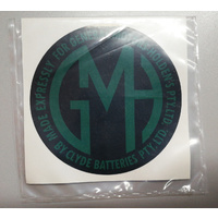 BATTERY DECAL GMH