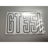 BOOT DECAL 351 GT BLACK FORD XB GT