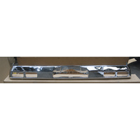 HOLLDEN HQ SEDAN & COUPE REAR BUMPER BAR - CHROME