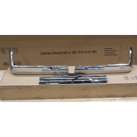 HOLDEN EJ-EH FRONT BUMPER BAR SET 63 - 65 - CHROME 3 PIECE SET