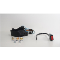 SEAT BELT NON-RETRACTABLE LAP SASH 400mm STALK