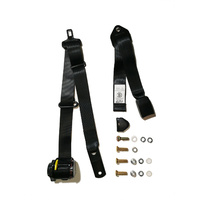 SEAT BELT RETRACTABLE LAP SASH 90/90 ON PILLAR ADJUSTABLE WEB BUCKLE
