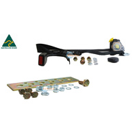 DATSUN 280Z 280ZX COUPE BUCKET FRONT LEFT SEAT BELT AND BRACKET