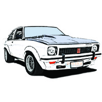 HOLDEN LH LX UC TORANA COUPE 2 DOOR RUBBER KIT