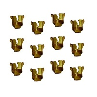 GMH Square Badge Clips – Pack of 12