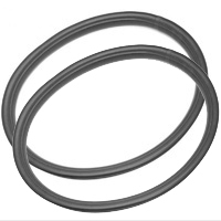 Toyota LandCruiser Ute Cab Rear Corner Window Seal Pair Suit BJ45 8/1980-10/1984